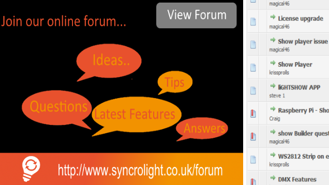 SyncroLight - Lights Controllers and Software for