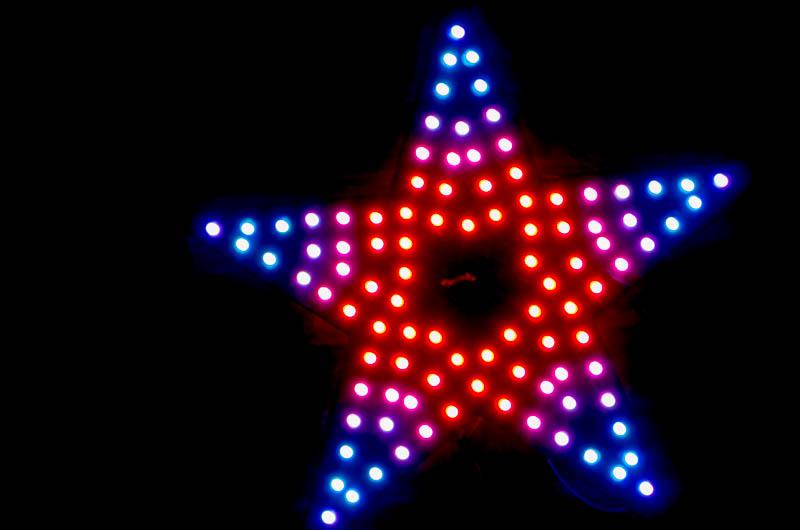 22 Quot Rainbow Pixel Star Syncrolight Co Uk